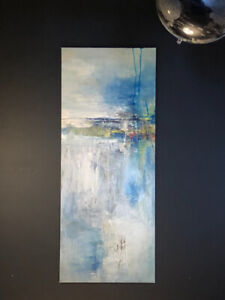 Beautiful textured canvas Abstract art - Hand painted. for sale  Calgary