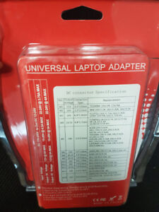 Universal laptop charger. Charges all laptops. New!