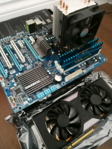 Am3+ Motherboard & cpu & Graphics card