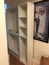 Ikea White Bookshelves