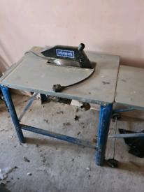 Scheppach table saw