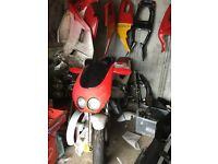 Cagiva 125 breaking mk1 can send the parts