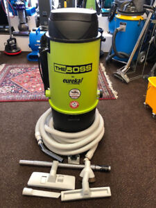 3 Year Warranty Eureka Central Vacuum With Complete Attachments