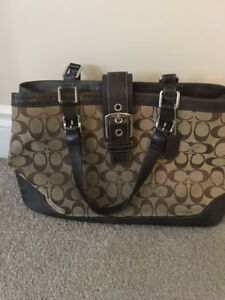 Coach Diaper/Hand Bag