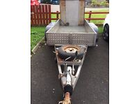 MINI DIGGER PLANT TRAILER PLATED £895
