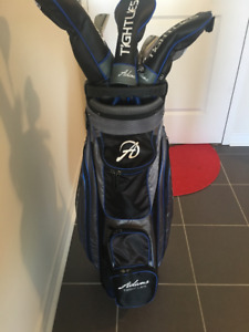 ADAMS Tightlies Forged Combo 11 PC RIGHT GOLF CLUB SET - $280