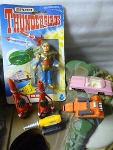 Matchbox 1992 Thunderbirds Island/ Pink Thunderbird and Figures London Ontario image 4