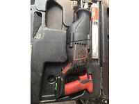 Snap on reciprocating saw