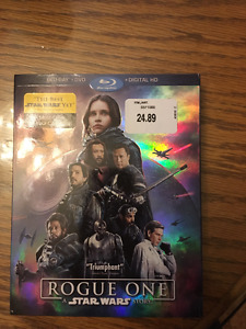 BRAND NEW STARS WARS: ROGUE ONE DVD/BLU-RAY FOR SALE!!!