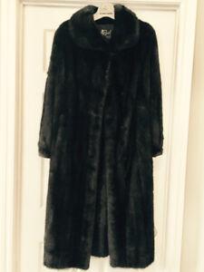 Manteau vison Black Diamond femme SMALL