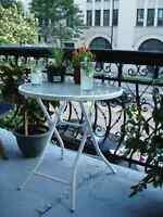 Table pliant / Folding Table