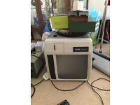 Gone pending collection Wed 23rd Aug Halinamat and Telex Caramate slide projectors not working