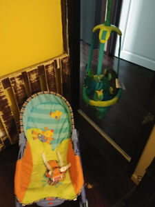Infant / Toddler Chair & Jolly-Jumper