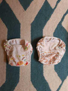 2 swim diapers 6m - 18m $4/both