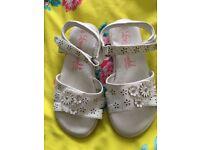 Girls sandals size 11