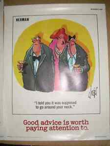 Herman safety posters 1987 Kitchener / Waterloo Kitchener Area image 3