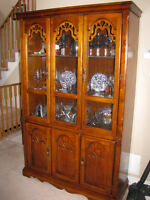 Solid wood hutch for sale, House of Braemore - only $300!