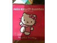 Hello Kitty Cd Boombox