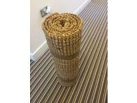 Jute hallway rug / runner ~ natural ~ Next ~ 3m long