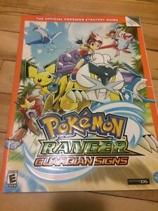 Pokemon ranger guardian signs guide BOOK new livre neuf