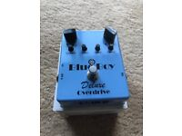 MI Effects Blue Boy Deluxe Overdrive Pedal