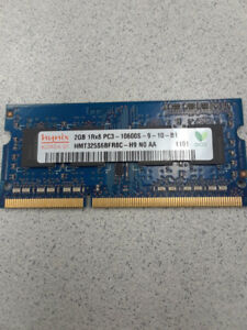 2 GB module RAM for Laptop