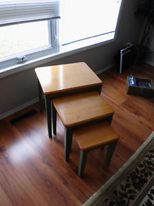 Stacking Tables set of 3