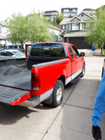 Pick up truck available for delivery