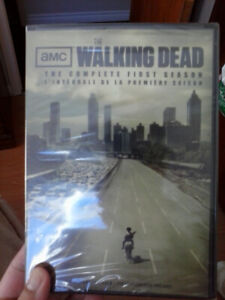 The Walking Dead - The Complete First Season on DVD. New, sealed