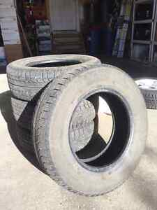5 Tires - 4 Winter + 1 Spare (never used)