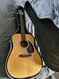 Pre Owned 1980's Sigma DM-4 Acoustic Guitar