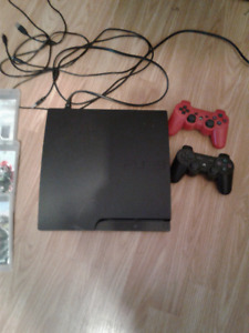PS3 Console, 2 controllers and 6 games