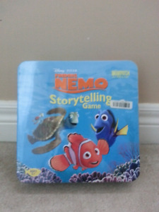 nemo story telling game, Ben ten game, straws &connectors brand