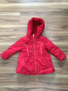 Red Winter Coat - size 2T