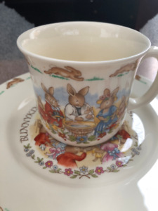 Royal Daulton Bunnykins Christening Set