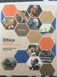 Philosophy Ethics Text Book for sale - 80.00
