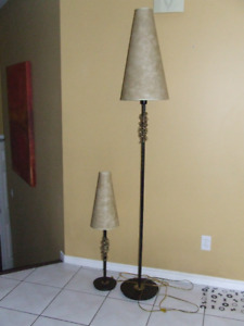 Floor and Table lamp for sale - $60