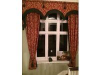 Enormous chateau curtains
