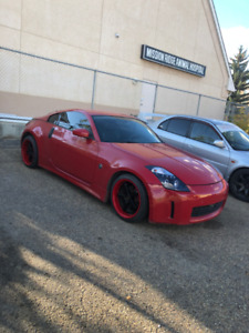 2005 Nissan 350z 6 speed manual