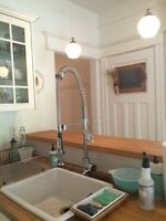 Kraus faucet in almost new condition
