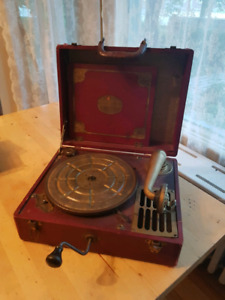Phonographe antique