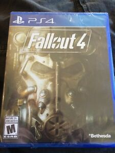 Fallout 4  ps4 brand new in plastic