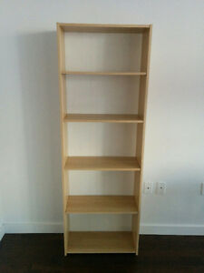 IKEA FLÄRKE book case, birch
