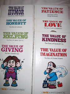 24 Different VALUE TALES -- HC books -