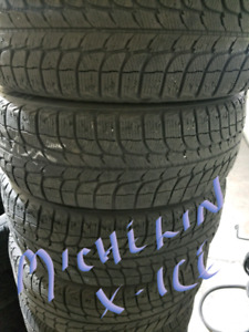 Michelin x-ice  125 for all 4 installed