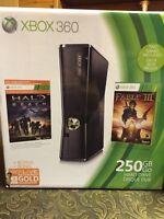 Xbox 360 slim, jeux, accesoirs & kinect à vendre