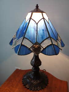 Handcrafted Stained Glass Table Lamp