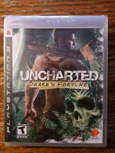 BRAND NEW Uncharted 1 Drakes Fortune PS3 Playstation 3