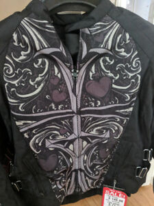 Women's Motorcycle Jacket - never used XL