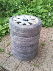 "Gently Used All-Season Tires - 15"" to 19"" Sizes Available"